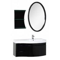 Мебель для ванной Aquanet Опера 115 R черный (3 ящика) 00169453