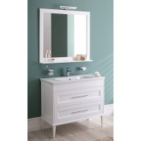 Мебель для ванной Aquanet Бостон М 100 00210628 белый мат.