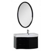 Мебель для ванной Aquanet Сопрано 95 R черный (3 ящика) 00169445