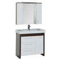 Мебель для ванной Aquanet Тиана 100 венге 00172818