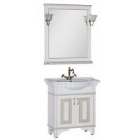 Мебель для ванной Aquanet Валенса 80 белый краколет/золото 00182809