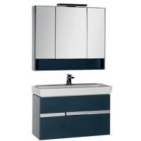 Мебель для ванной Aquanet Виго 100 сине-серый 00183666
