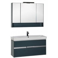 Мебель для ванной Aquanet Виго 120 сине-серый 00183670