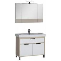 Мебель для ванной Aquanet Гретта 100 светлый дуб (камерино) 00172708