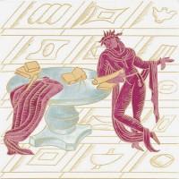 Керамическая плитка 20*20см Bardelli La Conversazione Classica греческие мотивы