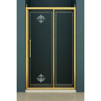 Душевая дверь 130x195 Cezares RETRO BF-1-130-CP-Br-L(R )