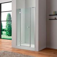 Дверь в нишу 130см Cezares CRYSTAL-B-13-30+60/40-C-Cr-L