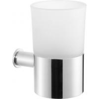 Подвесной стакан Cisal Xion XI090500D1 матовое стекло/нержавеющая сталь