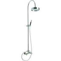 Настенная душевая система Cisal Barcelona Quad BQ00405121, 1010/1510h хром