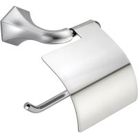 Держатель для туалетной бумаги с крышкой Cisal Cherie CE09042021 хром