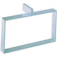 Держатель для полотенец Cisal Quad QU09022021 прямоугольный, хром
