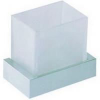 Подвесной стакан Cisal Quad QU09050021 стекло матовое, хром