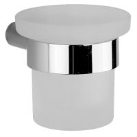 Подвесной стакан Cisal System SY09050021 стекло матовое, хром