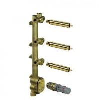 xTool-термостатный модуль с 3 вентилями Dornbracht 35 546 970 90
