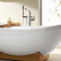 Смеситель напольный для ванны Dornbracht L Aura 25 963 905 00