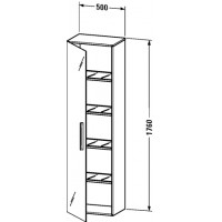 Шкаф для ванной Duravit Vero VE1176 R 71 71