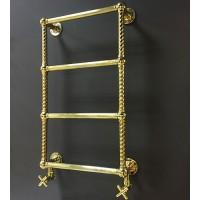Полотенцесушитель водяной Vogue Colonnade CL004A 775х475мм Antique Gold