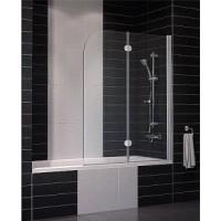 Шторка на ванну Vegas E2V 120х140 арт. E2V 0120 01 01 белый/прозрачное