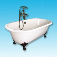 Ванна чугунная 170х75 Elegansa Gretta Bronze