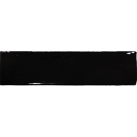 Керамическая плитка 7,5х30 см Equipe Ceramicas Masia Negro 20071