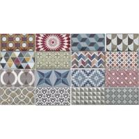 Керамическая плитка 7,5х15 см Equipe Ceramicas Metro Patchwork Colours 20922