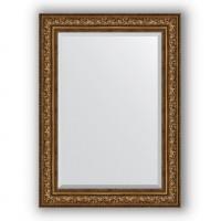 Зеркало Evoform Exclusive BY 3479 80x110 см виньетка состаренная бронза