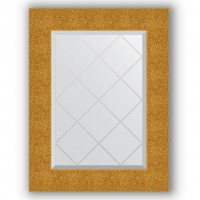 Зеркало Evoform Exclusive-G BY 4022 56x74 см чеканка золотая