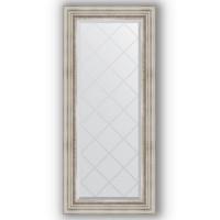 Зеркало Evoform Exclusive-G BY 4061 56x126 см римское серебро