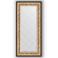 Зеркало Evoform Exclusive-G BY 4079 60x130 см барокко золото