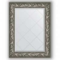 Зеркало Evoform Exclusive-G BY 4114 69x91 см византия серебро