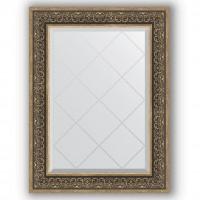 Зеркало Evoform Exclusive-G BY 4121 69x91 см вензель серебряный