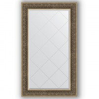 Зеркало Evoform Exclusive-G BY 4250 79x134 см вензель серебряный