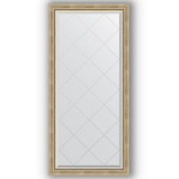 Зеркало Evoform Exclusive-G BY 4261 73x155 см состаренное серебро с плетением