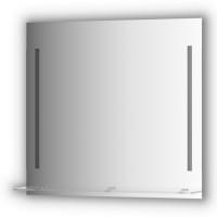 ЗеркалосполочкойEvoform Ledline-S BY 2164 80x75с2-мявстроеннымиLED-светильниками