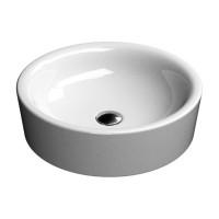 Раковина накладная круглая 48 см GSI Sand 903511