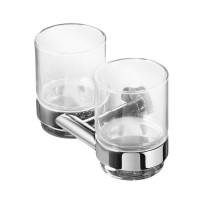 Подставка для стакана двойная Geesa Nemox 916522-02