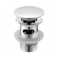 Донный клапан GLOBO Incantho FI012BI click-clack с керамической крышечкой, цвет белый