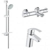 Промокомплект для ванны Grohe GROHE Eurosmart New Grohtherm 800 124422