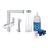 Смеситель для кухни с фильтром Grohe Blue K7 31354000