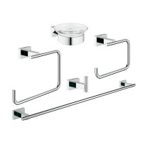Набор аксесуаров Grohe Essentials Cube 5 в 1 Master Bathroom 40758001 40758