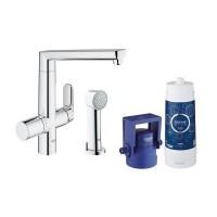 Смеситель для кухни с фильтром Grohe Blue K7 31354001