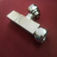 Комплект квадратных вентилей Vieir ZZ-2109A для водяного полотенцесушителя