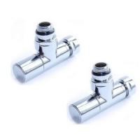 Комплект круглых вентилей для водяного полотенцесушителя Vieir ZZ-4701