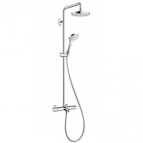 Душевая система с изливом Hansgrohe Croma Select S 180 2jet Showerpipe 27351400