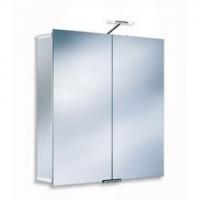 Зеркальный шкаф c подсветкой 75x75x17смHSK ASP 300 1102075