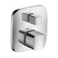 Термостат с запорным/переключающим вентилем Hansgrohe Ecostat E 15708000