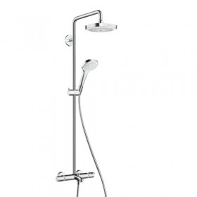 Душевая система с изливом Hansgrohe Croma Select E 180 2jet Showerpipe 27352400