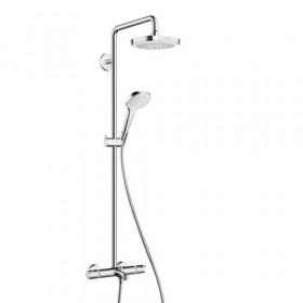 Душевая система с изливом Hansgrohe Croma Select E 180 2jet Showerpipe 27352400, Hansgrohe (Германия), Колонки Hansgrohe  Pharo