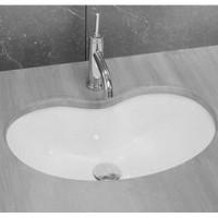 Раковина встраиваемая снизу 60x37 Hidra Ceramica A117
