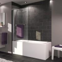 Шторка для ванны 75см Huppe X1 131601.092.321